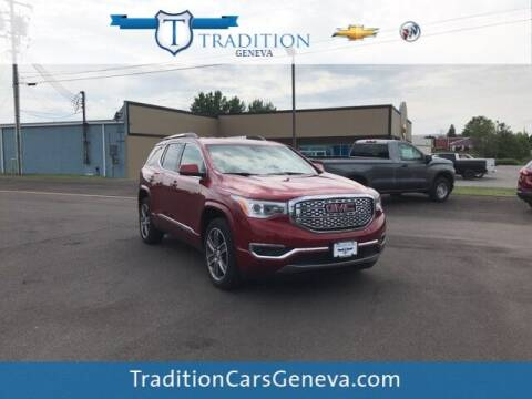 2019 GMC Acadia for sale at Tradition Chevrolet Buick in Geneva NY