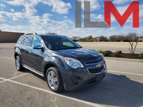 2014 Chevrolet Equinox for sale at INDY LUXURY MOTORSPORTS in Fishers IN