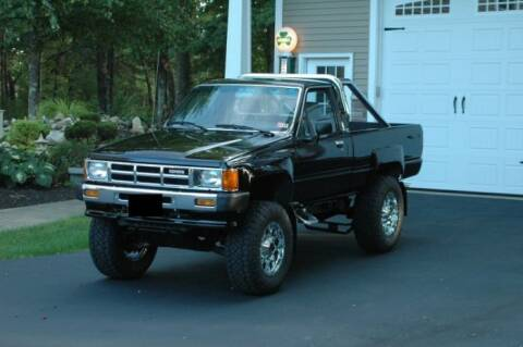 1986 Toyota Pickup for sale at Classic Car Deals in Cadillac MI