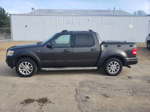 2007 Ford Explorer Sport Trac for sale at Steve Winnie Auto Sales in Edmore MI