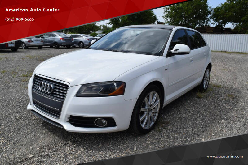 2010 Audi A3 for sale at American Auto Center in Austin TX