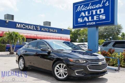 2019 Chevrolet Malibu for sale at Michael's Auto Sales Corp in Hollywood FL