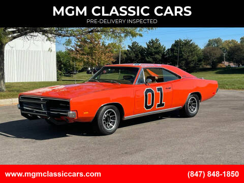 1969 Dodge Charger for sale at MGM CLASSIC CARS-New Arrivals in Addison IL