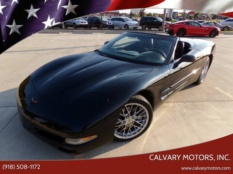 2002 Chevrolet Corvette for sale at Calvary Motors, Inc. in Bixby OK