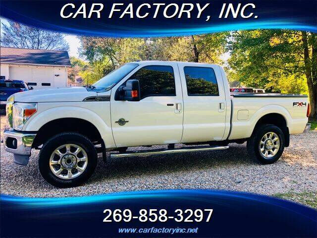 2011 Ford F-250 Super Duty for sale at Car Factory Inc. in Three Rivers MI