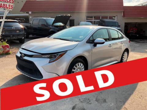 2021 Toyota Corolla for sale at ELITE MOTOR CARS OF MIAMI in Miami FL