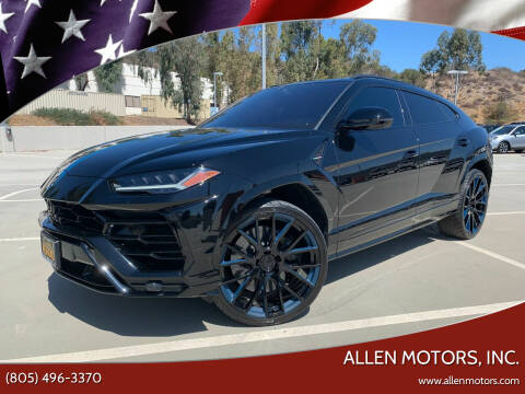 2019 Lamborghini Urus for sale at Allen Motors, Inc. in Thousand Oaks CA