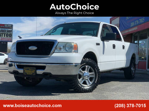 2007 Ford F-150 for sale at AutoChoice in Boise ID