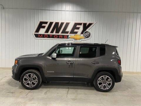 2016 Jeep Renegade for sale at Finley Motors in Finley ND