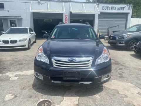 2012 Subaru Outback for sale at America Auto Wholesale Inc in Miami FL
