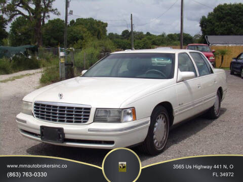 1999 Cadillac DeVille for sale at M & M AUTO BROKERS INC in Okeechobee FL