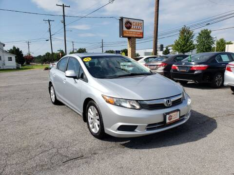 2012 Honda Civic for sale at Cars 4 Grab in Winchester VA