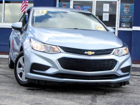 2017 Chevrolet Cruze for sale at Orlando Auto Connect in Orlando FL