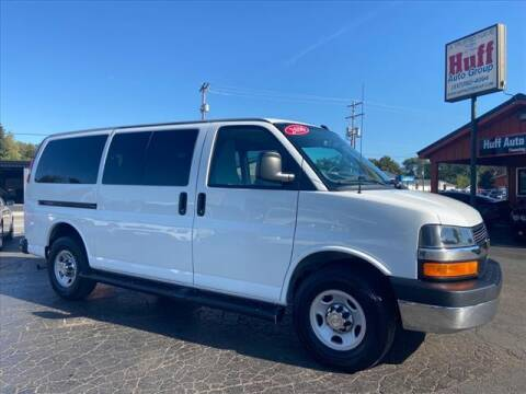 2016 Chevrolet Express Passenger for sale at HUFF AUTO GROUP in Jackson MI