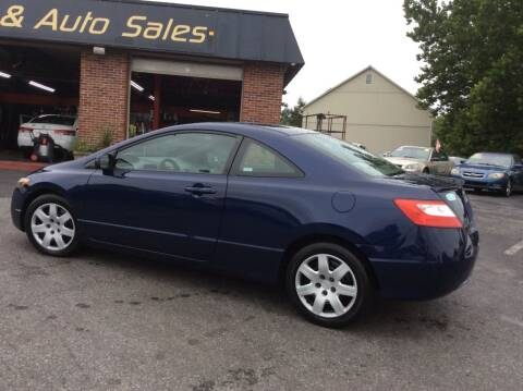 2008 Honda Civic for sale at Lancaster Auto Detail & Auto Sales in Lancaster PA