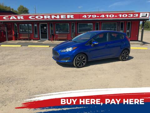 2019 Ford Fiesta for sale at CAR CORNER in Van Buren AR