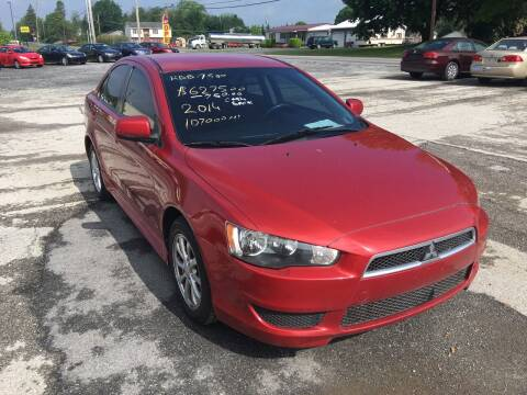 2014 Mitsubishi Lancer for sale at US5 Auto Sales in Shippensburg PA