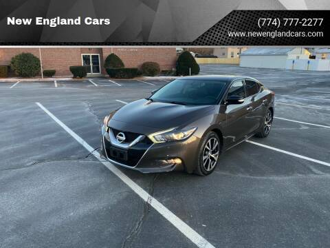 2016 Nissan Maxima for sale at New England Cars in Attleboro MA