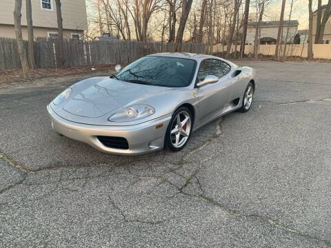 1999 Ferrari 360 Modena for sale at Long Island Exotics in Holbrook NY