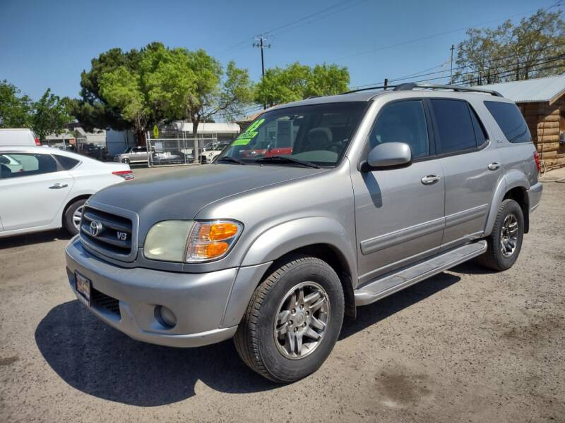 2003 Toyota Sequoia for sale at Larry's Auto Sales Inc. in Fresno CA
