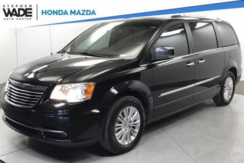 2015 Chrysler Town and Country for sale at Stephen Wade Pre-Owned Supercenter in Saint George UT