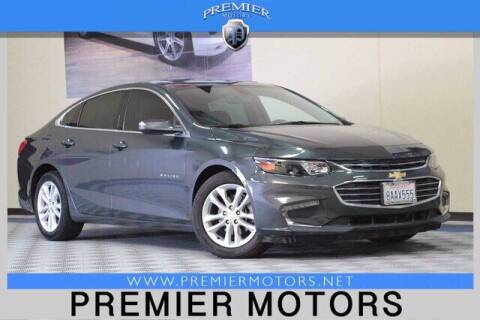 2018 Chevrolet Malibu for sale at Premier Motors in Hayward CA