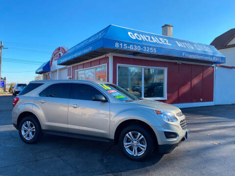 2016 Chevrolet Equinox for sale at Gonzalez Auto Sales in Joliet IL