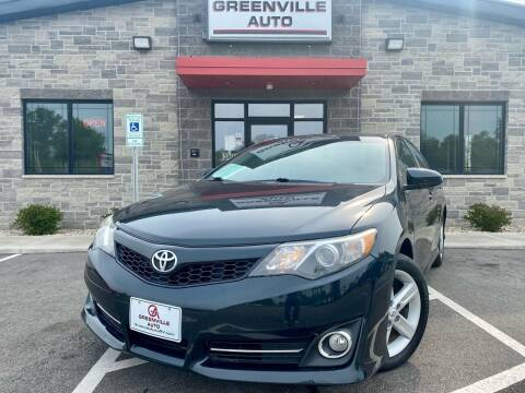 2012 Toyota Camry for sale at GREENVILLE AUTO in Greenville WI