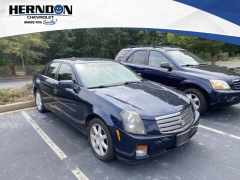 2005 Cadillac CTS for sale at Herndon Chevrolet in Lexington SC