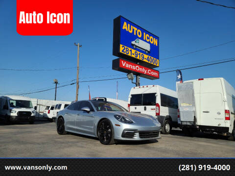 2020 Porsche Panamera for sale at Auto Icon in Houston TX