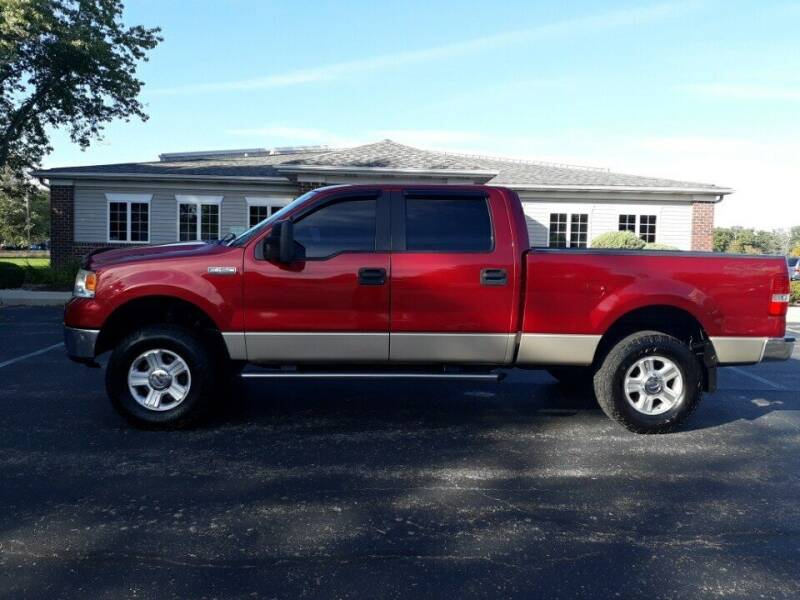 2007 Ford F-150 for sale at Pierce Automotive, Inc. in Antwerp OH