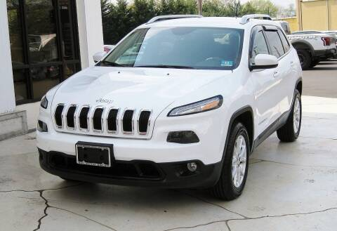 2014 Jeep Cherokee for sale at Avi Auto Sales Inc in Magnolia NJ