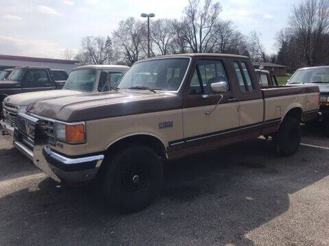 1988 Ford F-150 for sale at FIREBALL MOTORS LLC in Lowellville OH