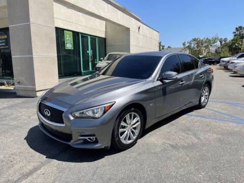 2016 Infiniti Q50 for sale at AutoHaus in Colton CA