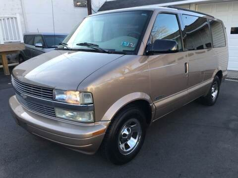 1999 Chevrolet Astro for sale at Alexander Antkowiak Auto Sales in Hatboro PA