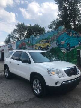 2011 GMC Acadia for sale at Showcase Motors in Pittsburgh PA