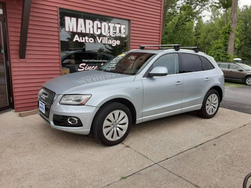 2013 Audi Q5 Hybrid for sale at Marcotte & Sons Auto Village in North Ferrisburgh VT