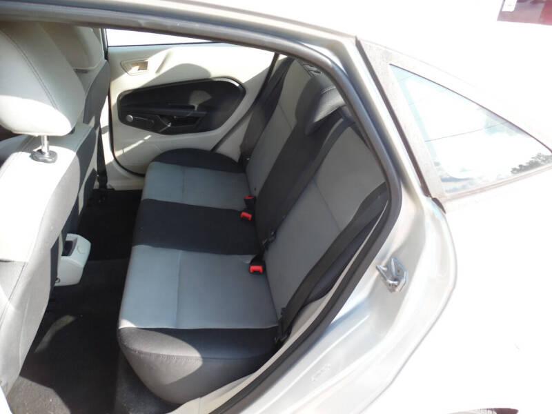 2013 Ford Fiesta S 4dr Sedan - Maiden NC