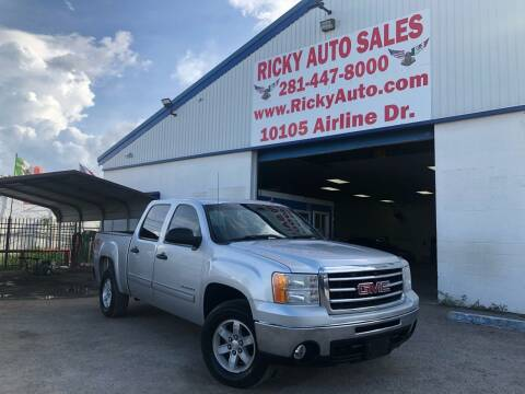 2012 GMC Sierra 1500 for sale at Ricky Auto Sales in Houston TX