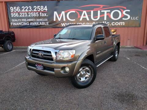 2010 Toyota Tacoma for sale at MC Autos LLC in Pharr TX