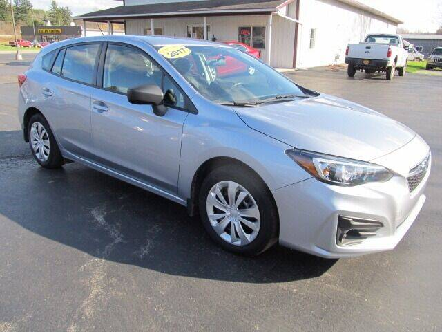 2017 Subaru Impreza for sale at Thompson Motors LLC in Attica NY