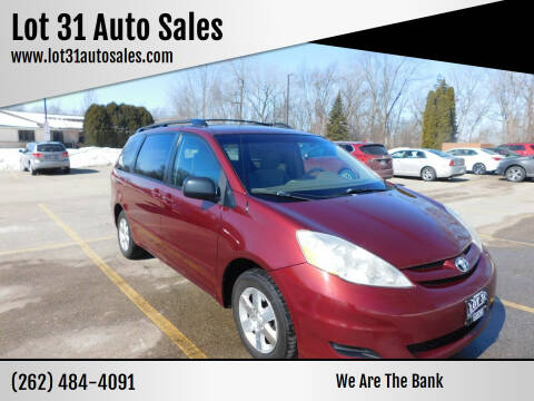 2007 Toyota Sienna for sale at Lot 31 Auto Sales in Kenosha WI