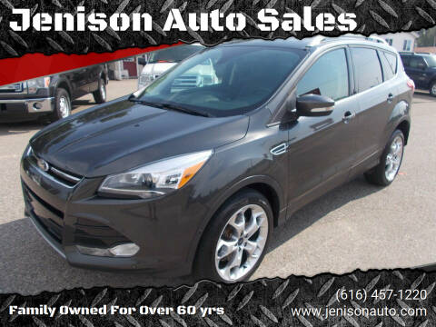 2016 Ford Escape for sale at Jenison Auto Sales in Jenison MI