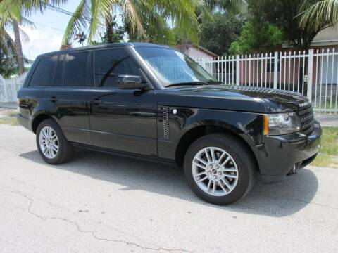 2012 Land Rover Range Rover for sale at TROPICAL MOTOR CARS INC in Miami FL