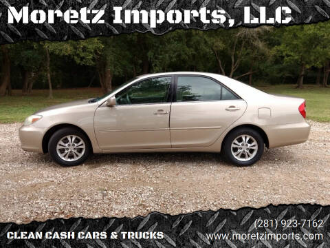 2004 Toyota Camry for sale at Moretz Imports, LLC in Spring TX