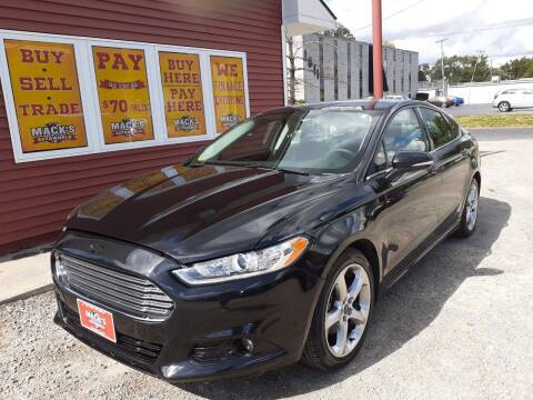 2013 Ford Fusion for sale at Mack's Autoworld in Toledo OH