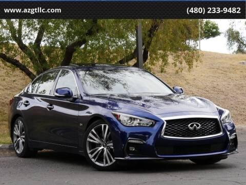 2018 Infiniti Q50 for sale at AZGT LLC in Phoenix AZ