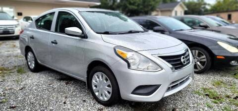 2016 Nissan Versa for sale at Dealmakers Auto Sales in Lithia Springs GA
