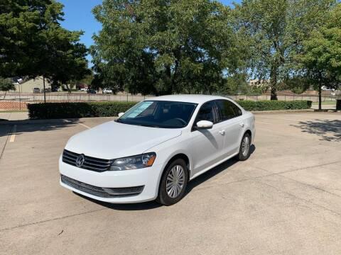 2015 Volkswagen Passat for sale at Z AUTO MART in Lewisville TX