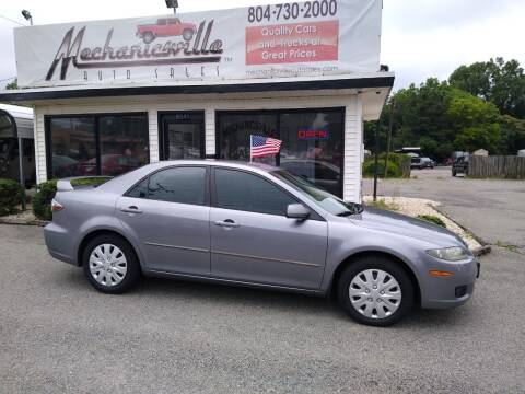 2007 Mazda MAZDA6 for sale at Mechanicsville Auto Sales in Mechanicsville VA